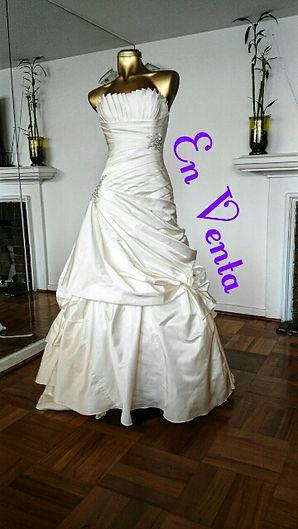 vestido de novia usado La Casa Blanca