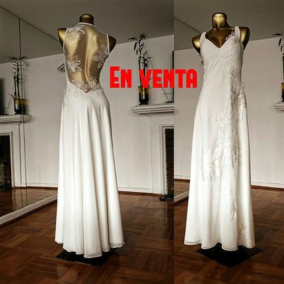 Vestido de novia usado Blanca Bonita