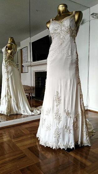 Maria Luisa Vega vestido usado