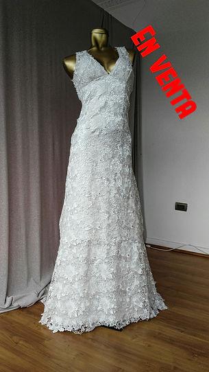 Vestido de novia usado Divina Señorita