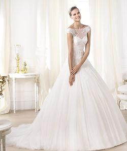 Cómo lavar un vestido de novia?