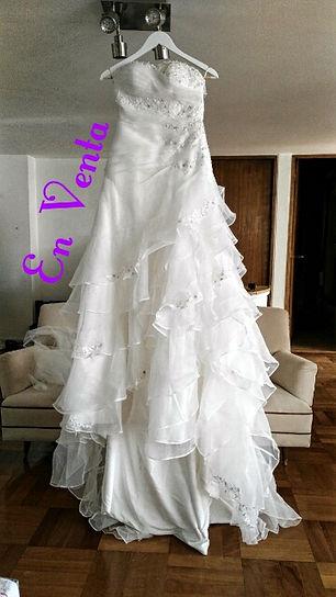 Vestido de novia usado Macarena Palma