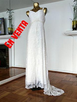 Vestido de novia usado Maria Subercaseaux