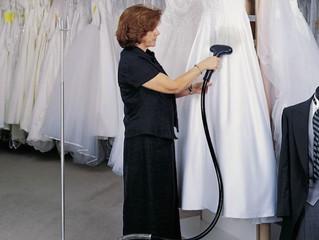Lavado de vestidos en Santiago