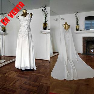 Vestido de novia usado Carolina Valenzuela