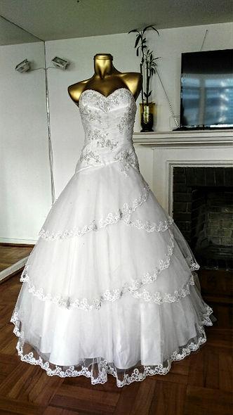 Vestido usado la casa blanca