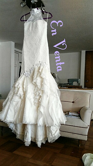 vestido de novia usado Punto Clave