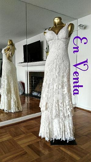 vestido de novia usado Ivan Pilkman