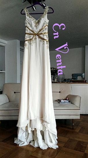 vestido de novia usado Maria Luisa Vega