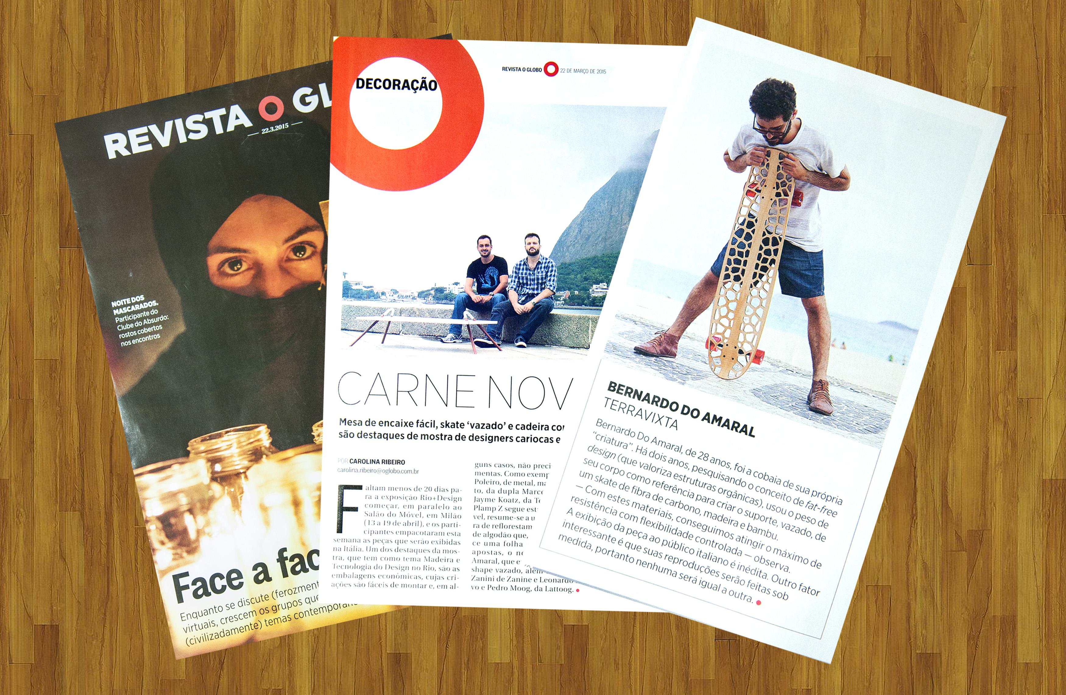 Voronoi na revista O Globo