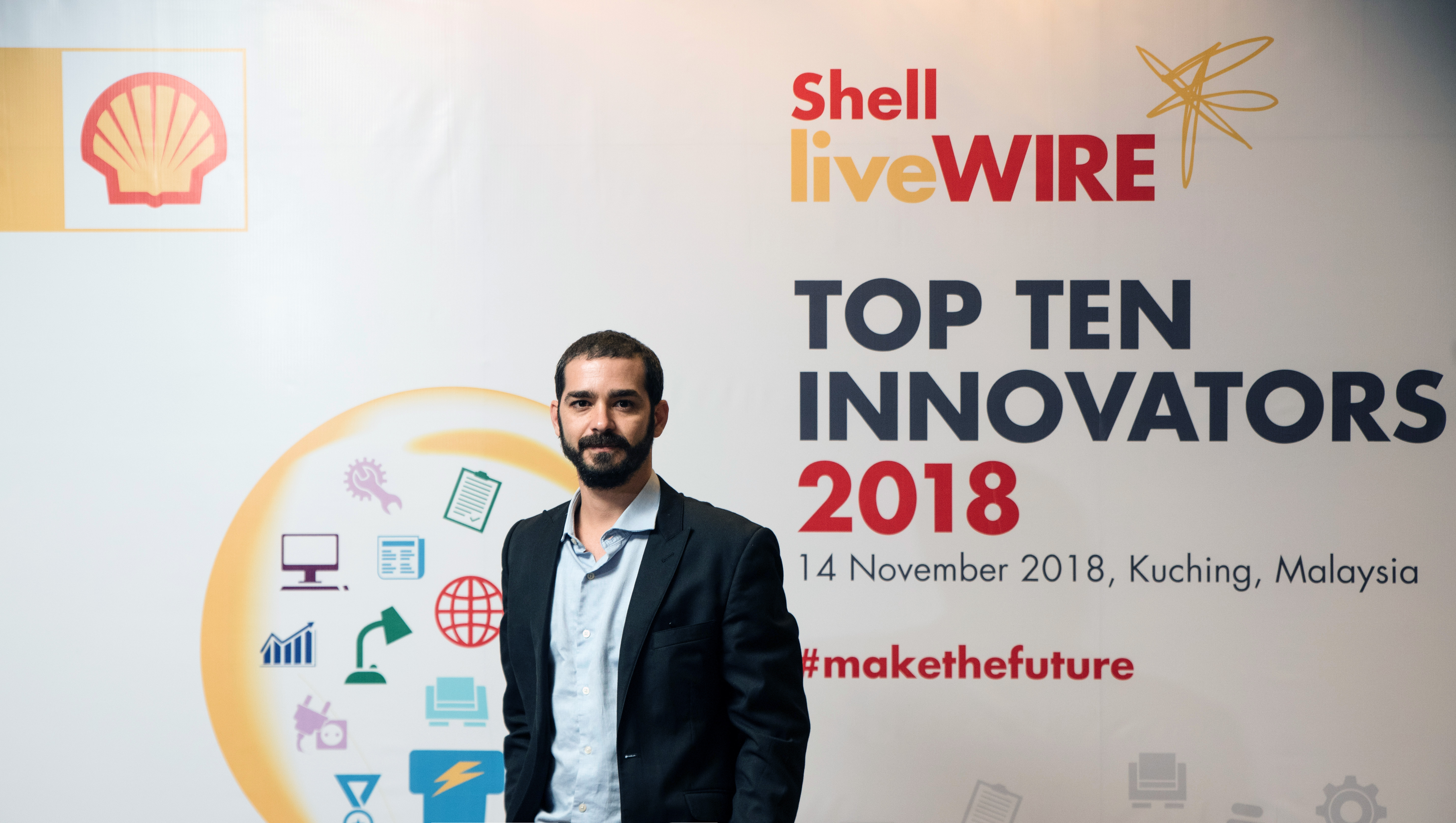 Prêmio Top Ten Innovators Shell 2018