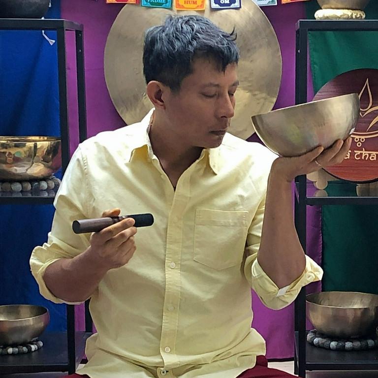 Stage - Pratique Partagées - Bienfaits des Bols Chantants-tibétains au quotidien