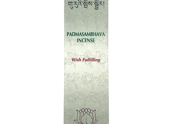 "Encens Padmasambhava ""Accomplisssement des souhaits"""
