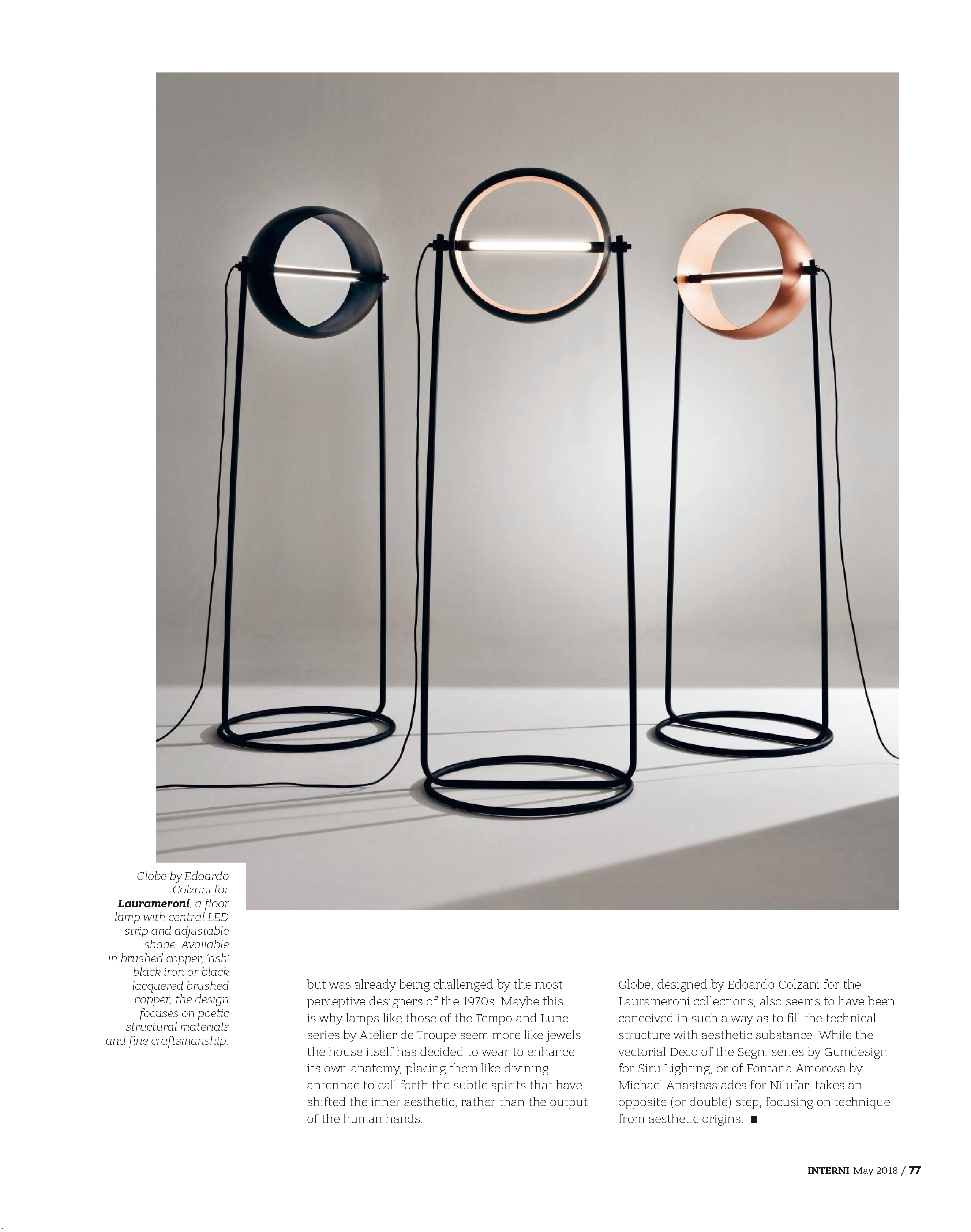 Interni Design Magazine May 2018