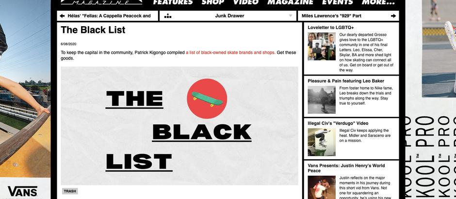 BGS as seen on Thrasher's Blacklist