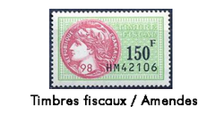 Timbres fiscaux PNG