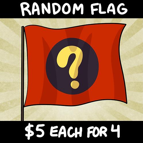 Random Flag Mystery Box