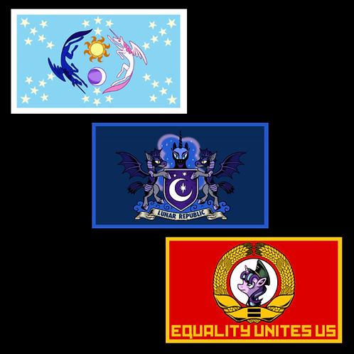 Fan Favorite Pony Flags