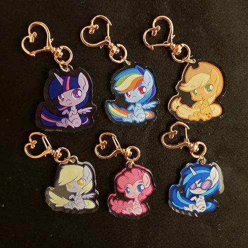 Pony Keychain Charms
