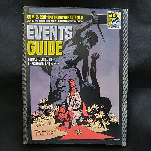 SDCC 2018 Con Book Events Guide