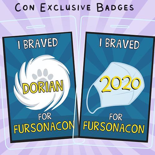 FursonaCon Exclusive Badges