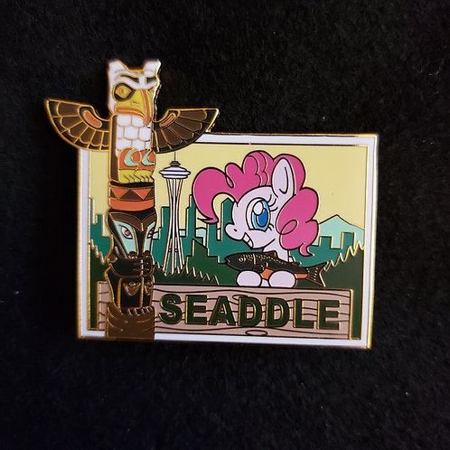 Seattle Pony Exclusive Pin