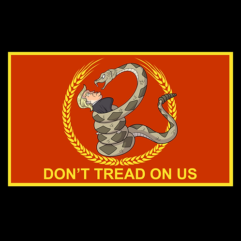 Don't Tread On Us Trump (Red)