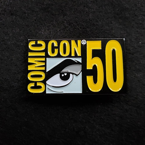 SDCC 2019 Exclusive 50th Logo Pin