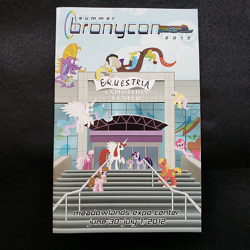 BronyCon 2012 Con Book