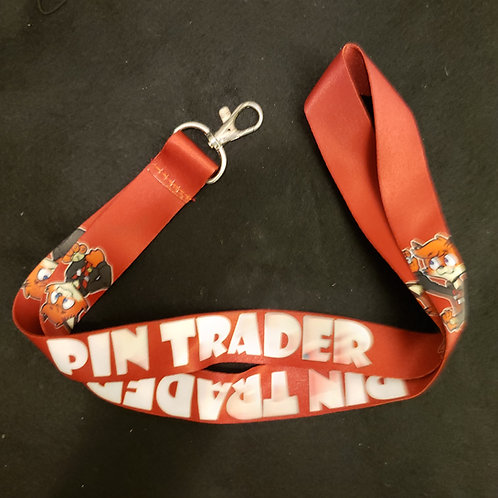 Con Pin Trading Lanyard