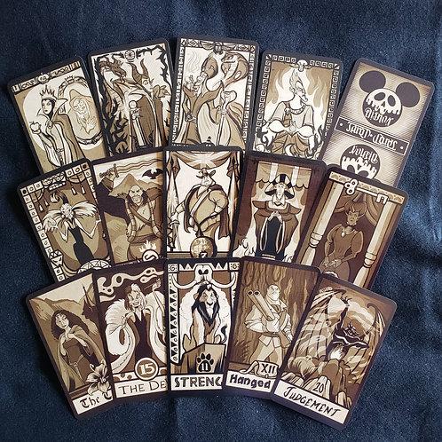 Disney Villians Tarot (Major Arcana)