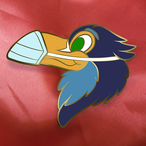 Exclusive Masked Toucan Pin