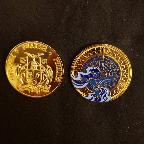 Princess Luna Planisphere Coin