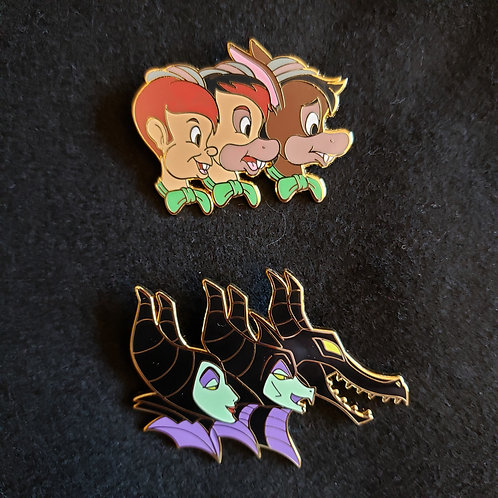 Disney Transformation Magic Pins