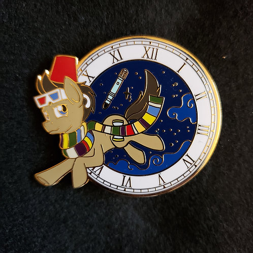Doctor Whooves Pin