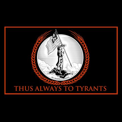 Down with Tyrant Trump Flag