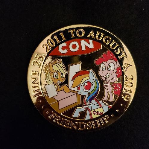 Final BronyCon 2019 Commemorative Coin