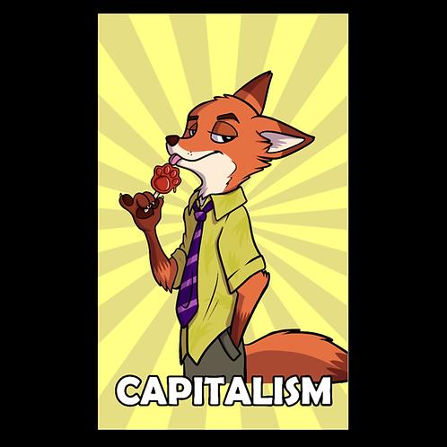 Capitalism Nick Wilde Flag