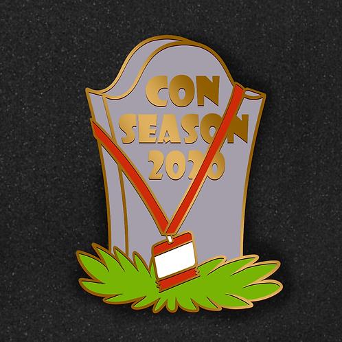 Con Season 2020 Tombstone Pin