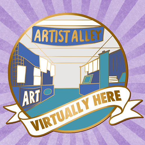 Virtually Here 2020 Artist Alley