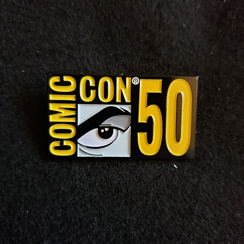 Comic Con 50th Eye Logo Pin (2019)