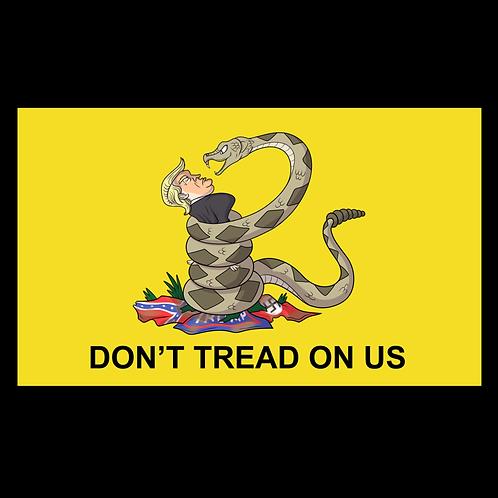 Don't Tread On Us Trump (Yellow)