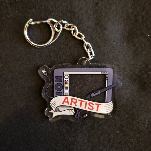Digital Tablet Artist Charm