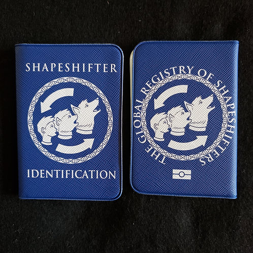 Shapeshifter Passport Card Holder