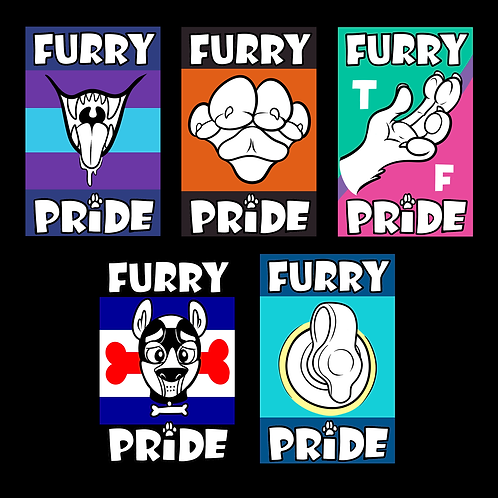 Subfandom Pride Badges