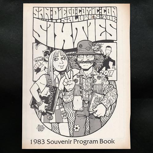 SDCC 1983 Con Book