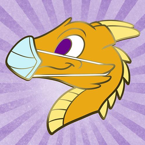 Dragon in Mask (Con Mascots)