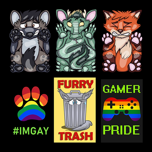 Flatten Animal and Other Badges