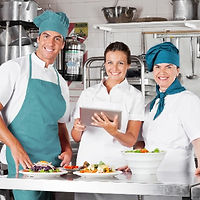 Catering team