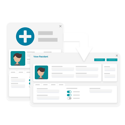 Automate data flow between clinical and catering